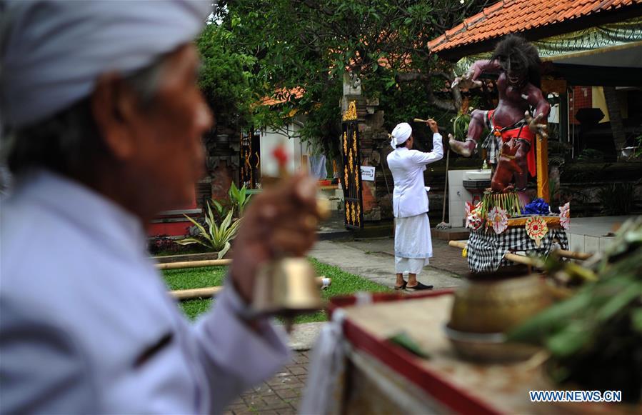 INDONESIA-JAKARTA-NYEPI DAY-CEREMONY