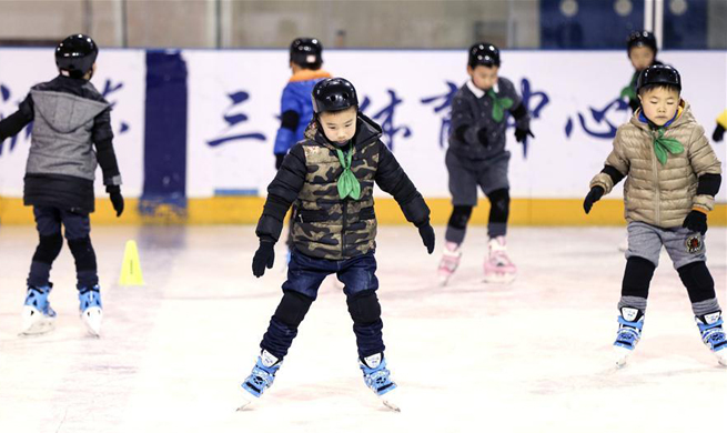 Winter sports getting more and more popular in China