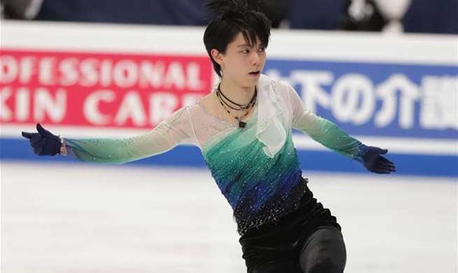 Yuzuru Hanyo claims title of ISU World Figure Skating Championships