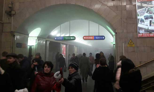 10 killed in subway explosions in Russia's St. Petersburg