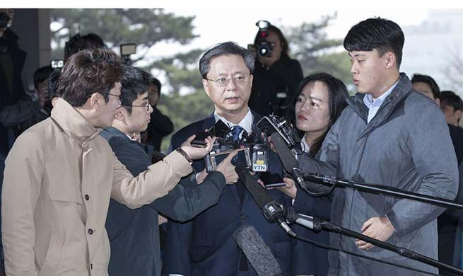 S.Korean prosecutors summon ex-presidential secretary over abuse of power