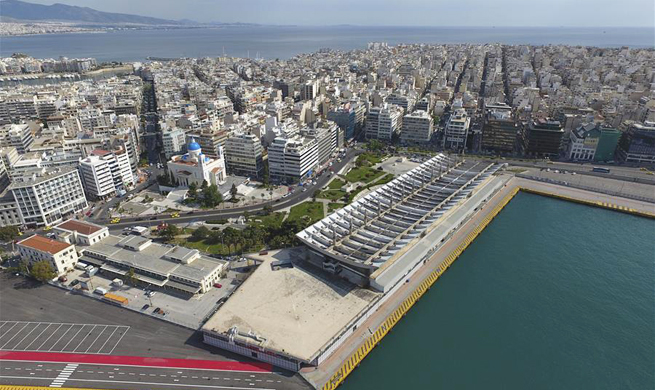 In pics: Pireaus Port Authority's office building in Greece