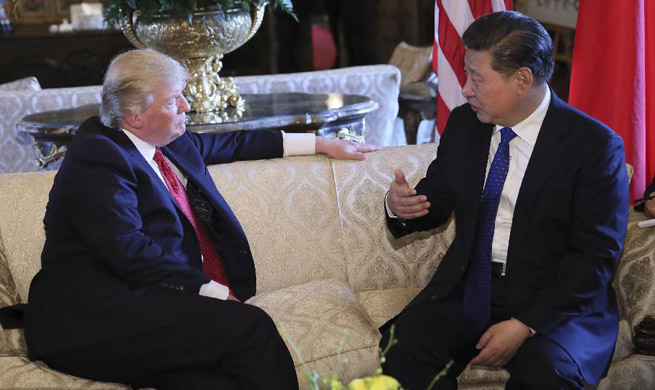 Xi says ready to boost China-U.S. ties from new starting point with  Trump