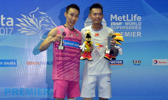 Malaysia Open: Lin Dan claims title of men's singles final