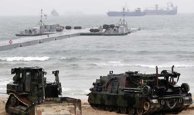 U.S.-South Korea joint Exercise Operation Pacific Reach held in Pohang