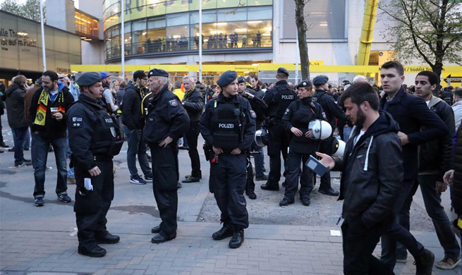 Germany's Dortmund cancels Champions League match after explosions