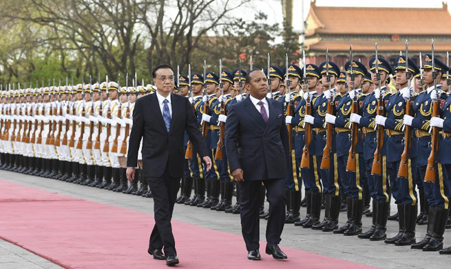 Chinese premier holds talks with Sao Tome and Principe counterpart on cooperation