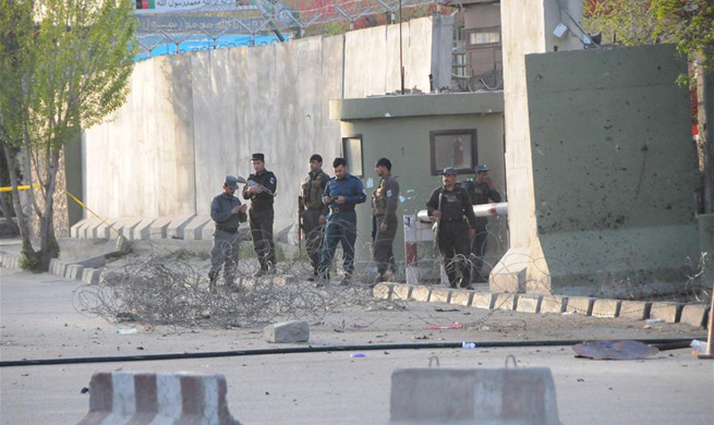 5 killed in Afghan capital suicide bombing: official