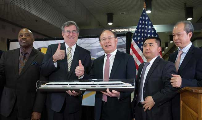 Chinese company to build rail cars for LA Metro in U.S.
