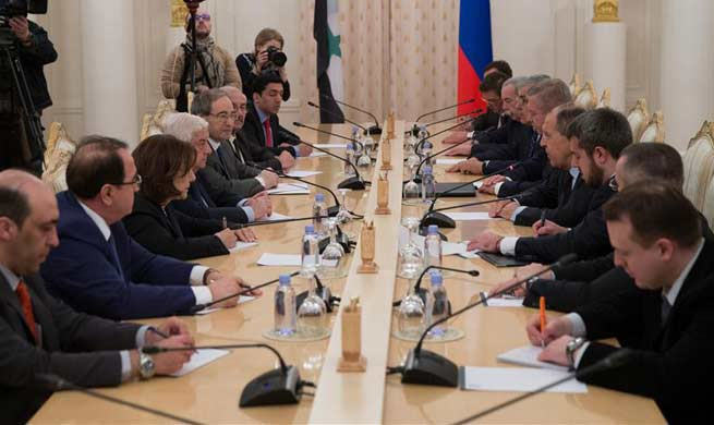 Russian FM meets with Syrian counterpart in Moscow