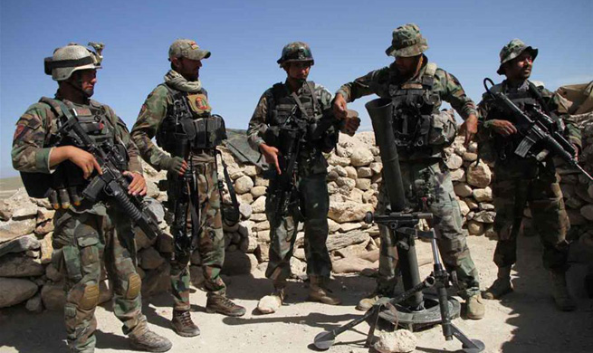 U.S. massive bomb kills 36 IS militants in Afghanistan
