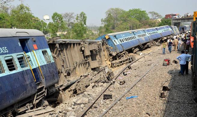 13 injured as passenger train derails in northern India