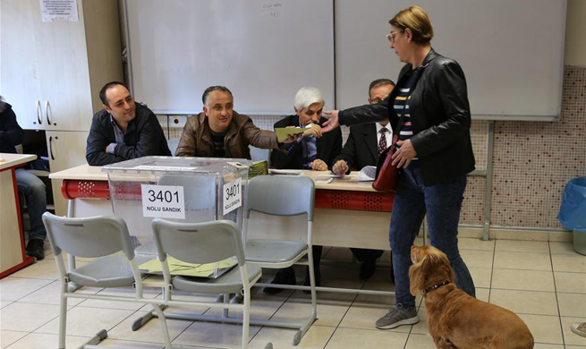 Over 167,000 polling stations open for referendum in Turkey