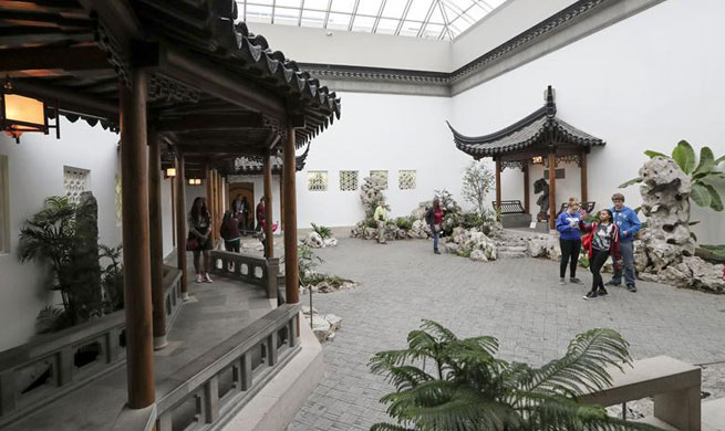 "In pics: Chinese garden ""Astor Court"" in New York"