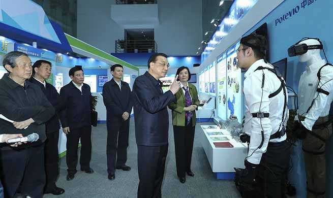 Premier Li inspects China Aerospace Science and Industry Corporation