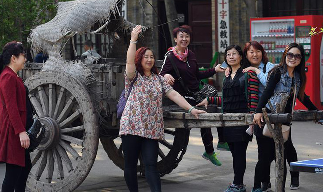 Folk tourism developed at Yuanjia Village in NW China's Shaanxi