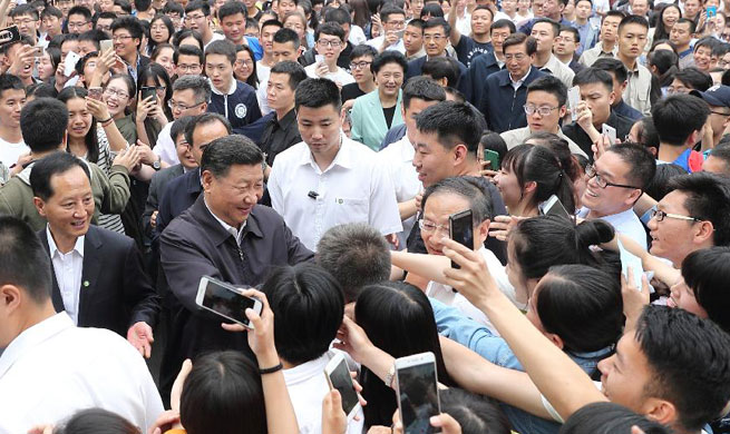 Xi stresses rule of law, cultivating legal talent