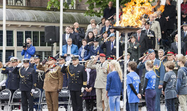 Liberation Day marked in the Netherlands