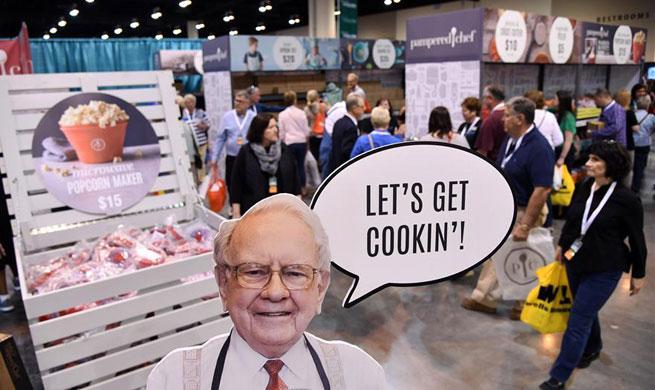 Warren Buffett's Berkshire Hathaway Annual Meeting held in Omaha, U.S.