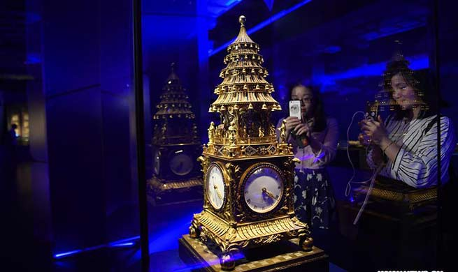 140 sets of relics displayed on exhibition in Palace Museum