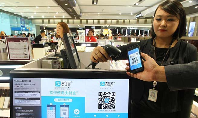 Mobile payment with Alipay, Wechat becomes new trend around world