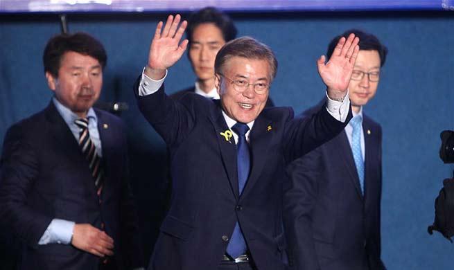 Moon Jae-in wins S.Korean presidential election