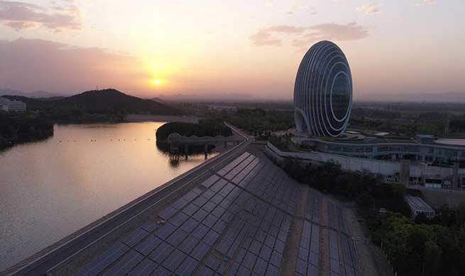Breathtaking scenery of Yanqi Lake in Beijing