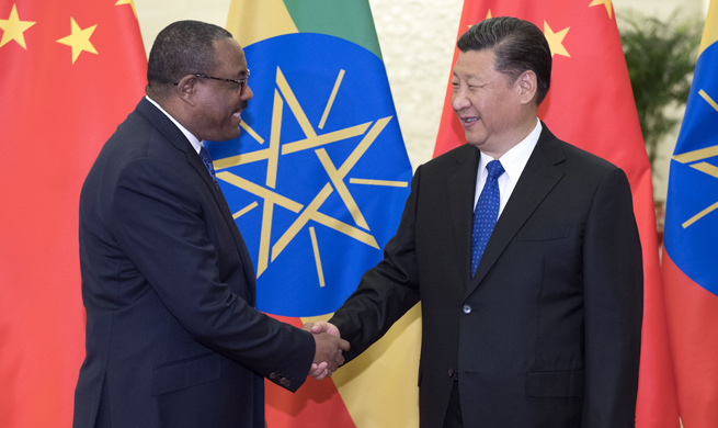 Xi proposes advancing China-Ethiopia ties