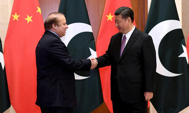 Xi calls for boosting China-Pakistan Economic Corridor construction