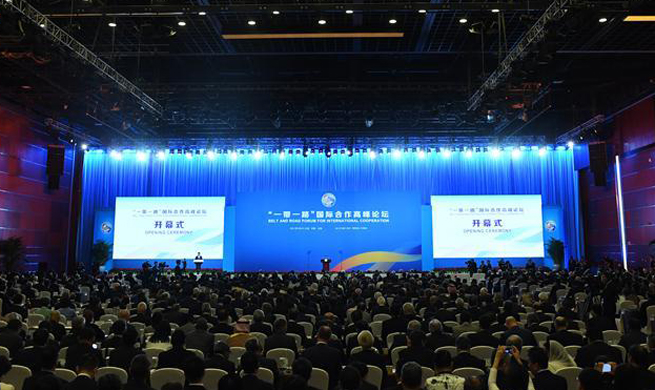 Belt and Road Forum for International Cooperation opens in Beijing