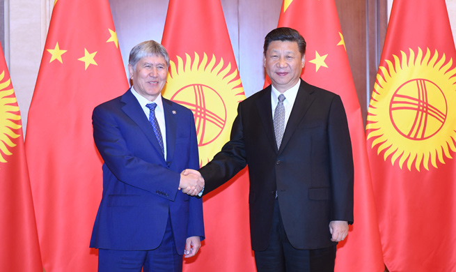 China, Kyrgyzstan leaders pledge more bilateral cooperation