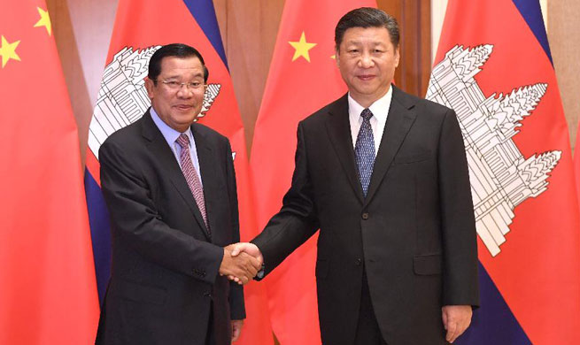 China, Cambodia vow to implement cooperation plans under Belt and Road Initiative