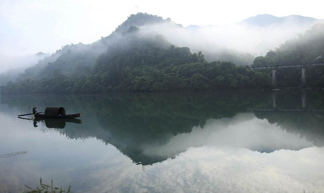 In pics: Dongjiang Lake in central China's Hunan