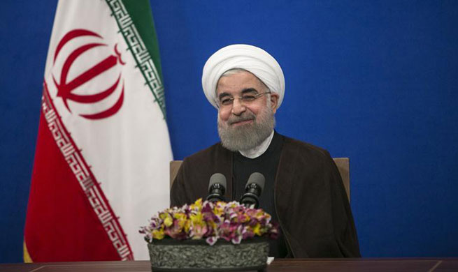Rouhani wins Iran's presidential election with 57 pct of ballots