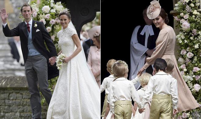 Pippa Middleton marries James Matthews in Englefield, Britain