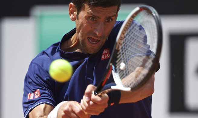 Novak Djokovic beats Juan Martin Del Potro 2-0 at Italian Open