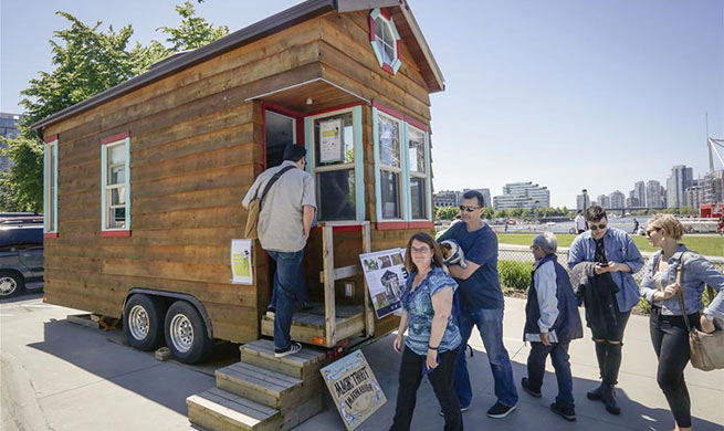 Tiny House show held in Vancouver, Canada