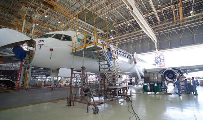 Aviation maintenance industry in Xiamen yields 12.11 billion yuan in 2016