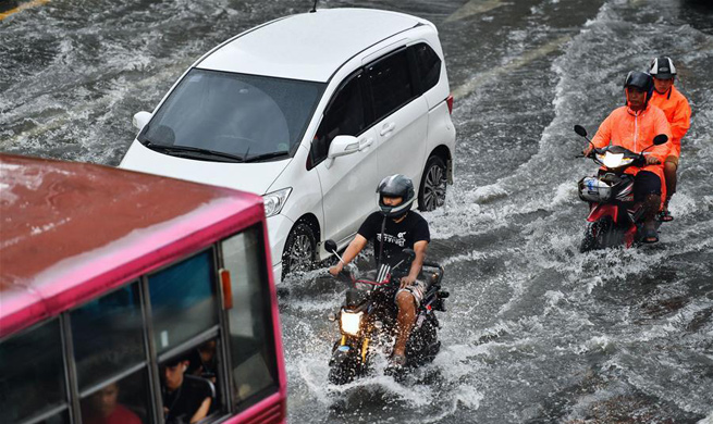 Successive downpours hit Bangkok