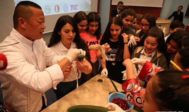 Confucius Institute in Ankara holds celebrations to mark Chinese Dragon Boat Festival