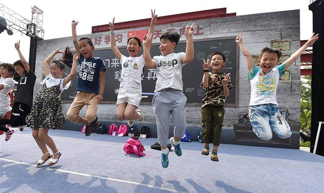 Youngsters celebrate Int'l Children's Day in various ways across China