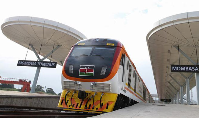 Kenya officially launches standard gauge railway