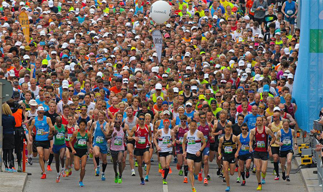 Stockholm Marathon 2017 held in Sweden