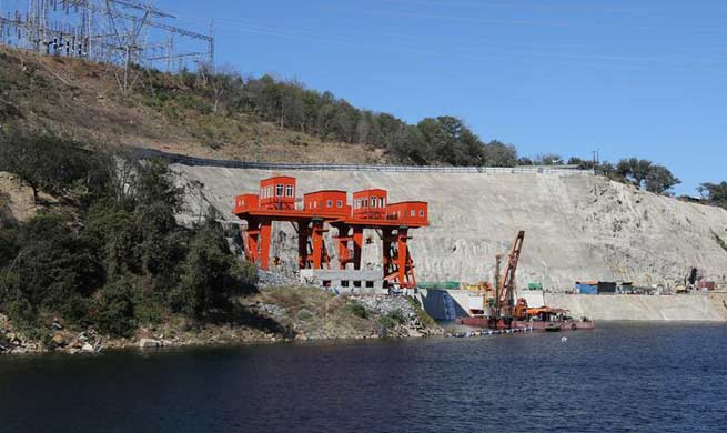 In pics: construction site of Kariba South Expansion Project by Sinohydro