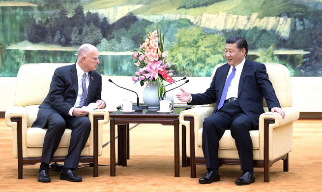 President Xi eyes bigger role for California in China-U.S. cooperation