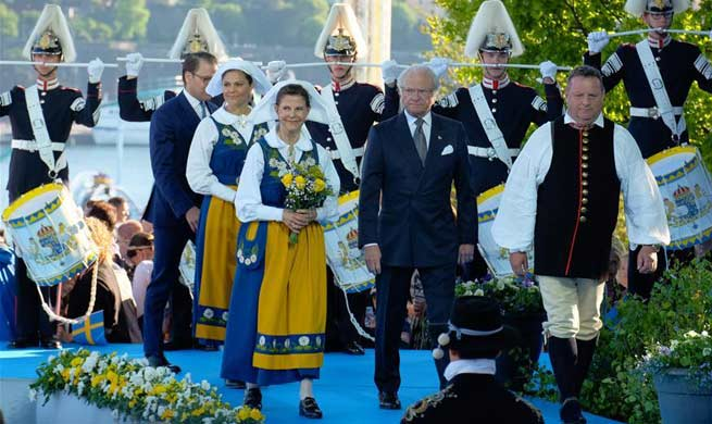 Sweden's National Day celebrated in Stockholm