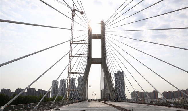 Chaobaihe Bridge linking Beijing, Hebei finishes closure