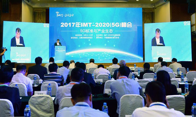 Summit on 5G network kicks off in Beijing