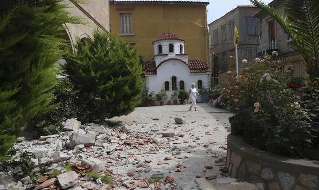 One killed, 11 others injured as strong earthquake hits eastern Greece