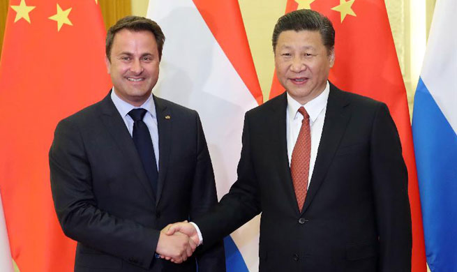China expects Luxembourg to play active role in developing China-EU ties